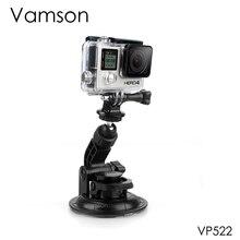 Vamson dla GoPro 7 akcesoria samochodowe przyssawka statyw o średnicy 9CM podstawa do Go pro Hero 6 5 4 dla SJ4000 dla Xiaomi VP522