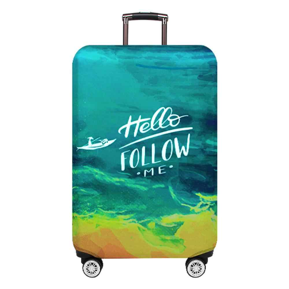 Thicker Travel Suitcase Protective Cover Luggage Case Travel Accessories Elastic Luggage Dust  for Trunk Case Cover Apply to 18'