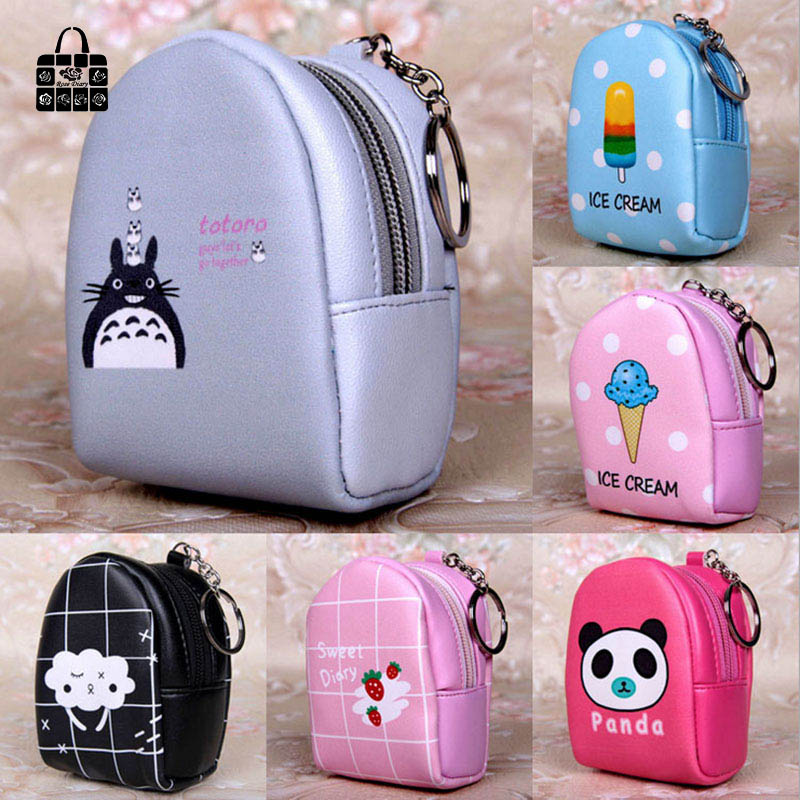 Rose Diary cute schoolbag shape High quality pu leather zero wallet child girl boy purse, lady women Coin Purses Pouch Case bags new brand mini cute coin purses cheap casual pu leather purse for coins children wallet girls small pouch women bags cb0033