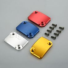 hot deal buy yetaha cnc aluminum motorcycle front brake fluid reservoir cover cap for ktm  duke 125 200 390 motorbike parts accessories new