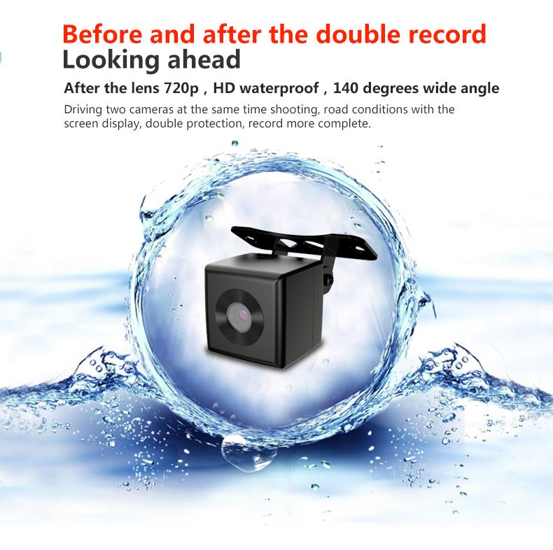 JADO D680S Car Dvr Camera Full HD 1080P Car Dvrs Dual Lens Recorder 6.86' Car Camera Dash cam ADAS Rearview Mirror Registrar 8