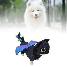 New Pet Dog Hoodies Clothes Halloween Costume Dragon Cosplay Coat Puppy Cat Apparels  Sweater Set