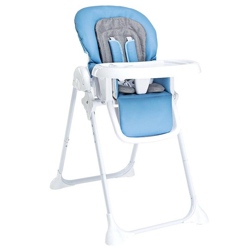Siège de bébé pliant dinant la chaise pour des enfants mangeant la chaise portative multifonctionnelle de bébé pour des enfants âgés de 0-4 ans de table