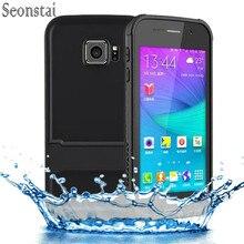 Оригинальный Для Samsung Galaxy S6 случае ip68 воды грязи противоударный чехол для Galaxy S 6 G9200 G920f G920i Водонепроницаемый сумка с подставкой