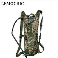High quality military bottle pouch tactical water bag Portable kamp malzemeleri mochila de Hydration Drinking Water Bag freeship