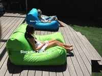 Chaise Sunsoft, cal y aqua azul, silla grande gigante
