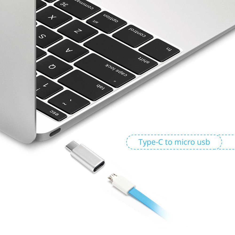 Cargador adaptador USB tipo C a Micro USB para Sony Xperia 1 XZ3 L1 L2 L3 XZ XZ1 XZ2 Premium X Compact XA1 10 Plus XA2 Ultra XA3