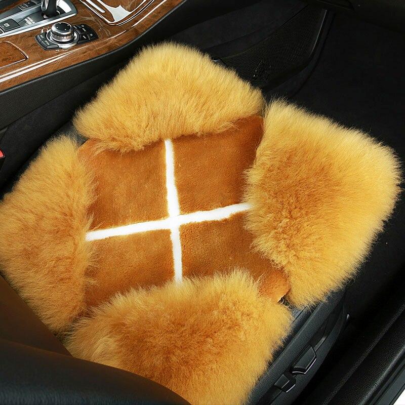 New winter car wool pad / car seat cover plush cushions for Mercedes Benz GLK S Class X204 X253 W221 W222 Interior accessories тга original fit tools тга закрыта нейлонова регулируема ft