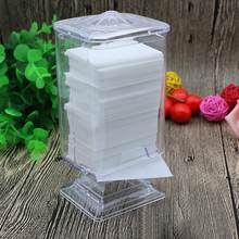 Makeup Cotton Pad Box Nail Art Remover Paper Wipe Holder Container Storage Case New(China)