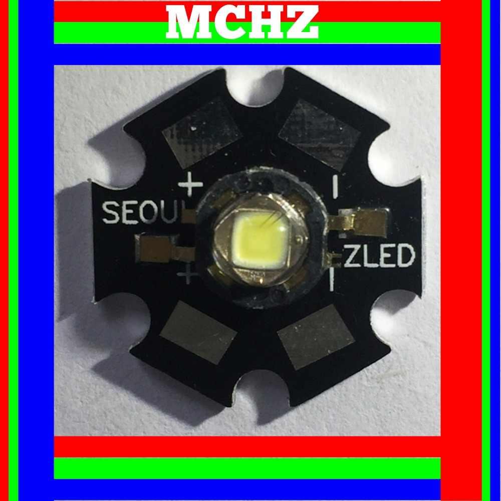 1PCS סיאול כוח CREE XML XM-L T6 LED U2 3W לבן מתח גבוה LED שבב על 20mm PCB