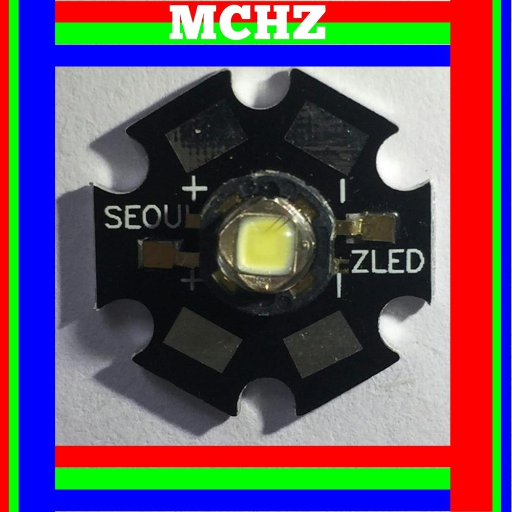 1PCS SEOUL POWER CREE XML XM-L T6 LED U2 3W WHITE High Power LED Chip On 20mm PCB