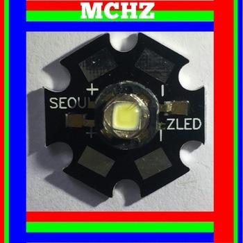 1PCS SEOUL POWER CREE XML XM-L T6 LED U2 3W WHITE High Power LED chip on 20mm PCB cree xlamp xm l xml rgbw rgb white or rgb warm white color high power led emitter 4 chip 20mm star pcb board