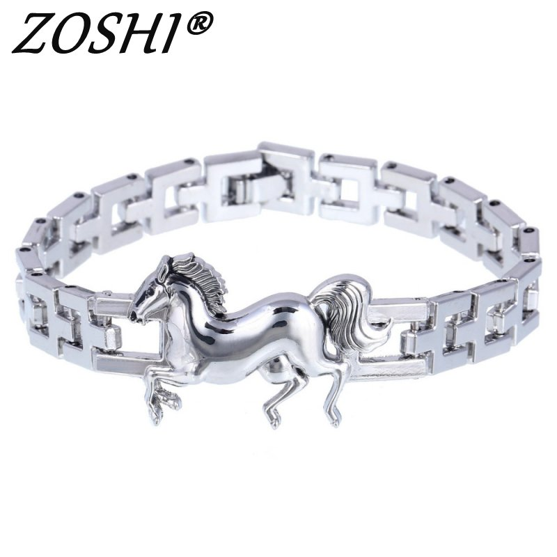 Punk Horse Stainless Steel...
