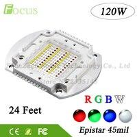 High Power LED Chip RGBW 120W Disco Light 24 Pin DMX DIY 120 Watt LED Stage