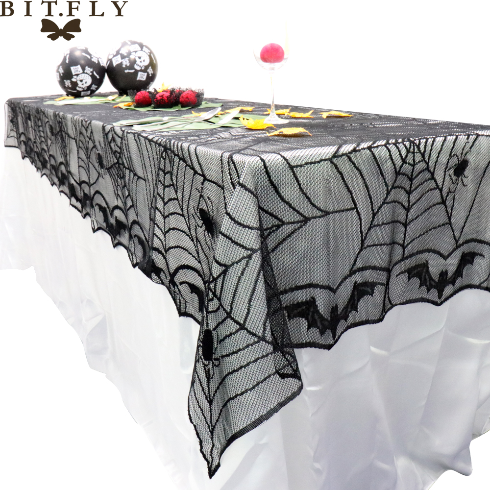 Halloween Spider Web Tablecloth