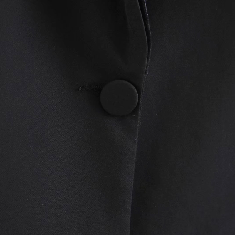 Filosofia Nero Manica Sportiva Casual Il Donne Delle Cappotto Vestito Signore Lavoro Lunga Bella Ufficio Da Blazer Giacca Abiti Primavera WID29EH