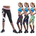 3D print hot body slimming thigh pants butt lift   leggings smooth elastic panties sexy women workout butt lift leggin