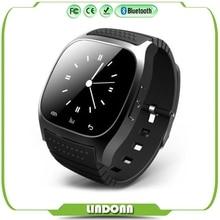2016 heißer Verkauf Smartwatch M26 Sport Bluetooth Smart Uhr Mit LED Musik-player Schrittzähler Für Apple IOS Android Smartphone