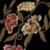 SCQP Floral Geométrico de La Vendimia Bordada Negro Mujeres Linterna Manga de Las Señoras Étnicas Souvenir Chaqueta de Invierno Cálido Abrigo de Las Mujeres