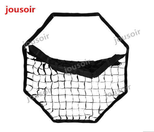 Godox Portable 95 cm nid d'abeille grille parapluie Softbox Photo Softbox réflecteur Softbox pour Flash Speedlight CD50