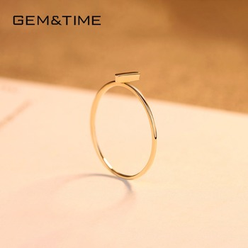 14K Yellow Gold Cross Ring 4