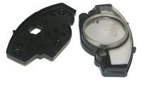 Motorcycle Parts Speedo Meter Gauge Tachometer Instrument Case Cover For YAMAHA R1 2004 2006 R6 2006