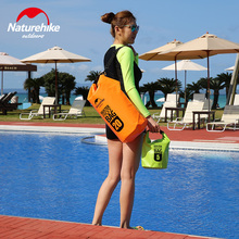 5L 10L 20L with strap portable waterproof bag swimming Storage drifting mobile phone camera men women green purple