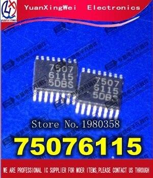 5 قطعة 75076115 7507 6115 الأصلي أصيلة والجديدة في المخزون شحن مجاني IC