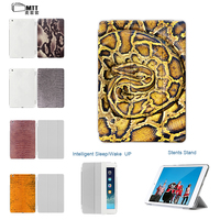 MTT For Apple Ipad Air 2 Case Air2 Air 1 2nd PU Leather Print Snake Skin