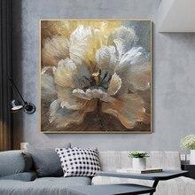 لوحة زيتية تجريدية مرسومة يدويًا لعام 100% على قماش كتان لتزيين صور بدون إطار لغرفة المعيشة هدايا ديكور منزلي