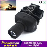 600Lumen LED Headlamp Flashlight Frontal Lantern Durable Zoomable Head Torch Light Bike Riding Lamp For Camping Hunting