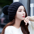 Fashion Women's Winter Thick Warm Handmade Knitted Hat Chunky Beanie Caps Gift