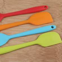 Multi-color Silicone Spatula (Food Grade – Non Stick  – Butter Cooking – Cookie Pastry Scraper – Cake Baking )