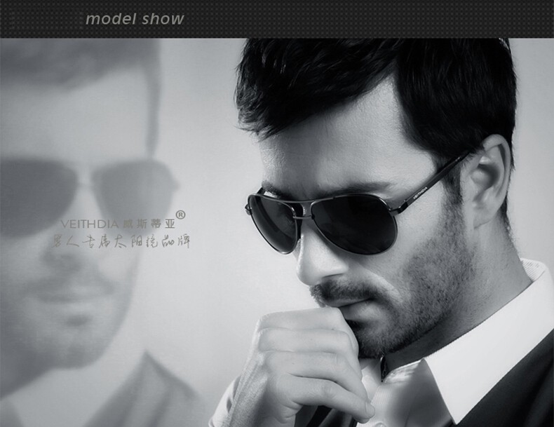 VEITHDIA Men's Polarized Sunglasses 8