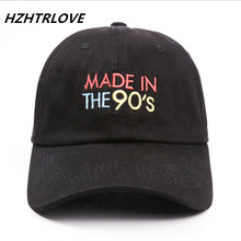 High Quality Letter MADE IN THE 90'S Snapback Cap Cotton