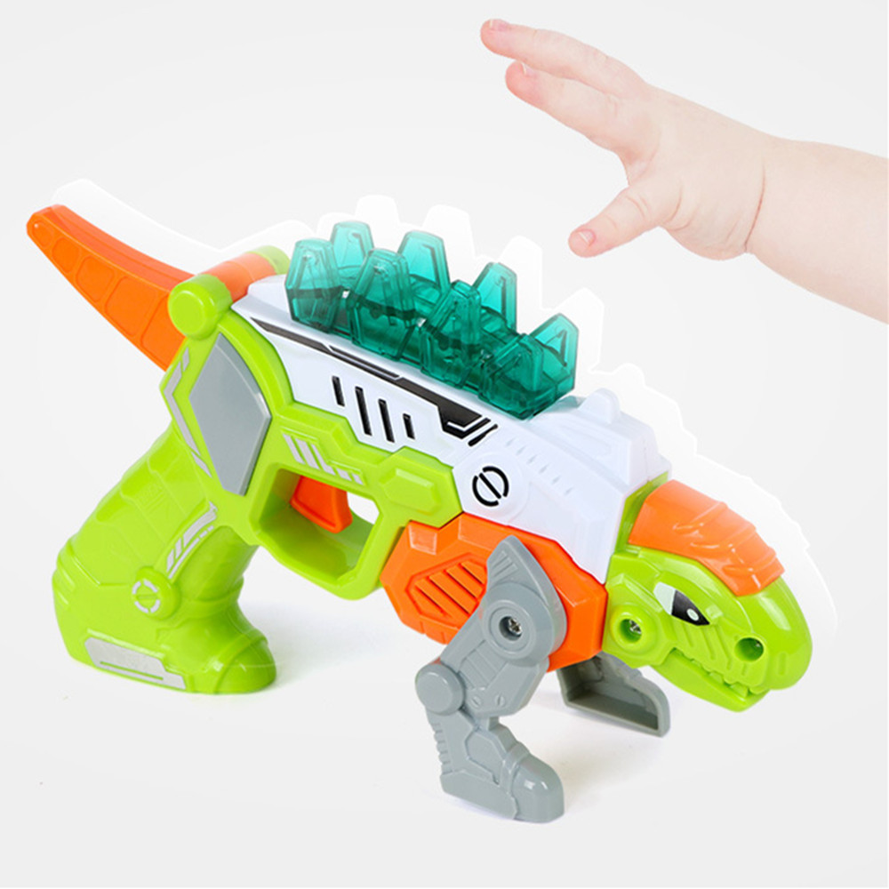 Learning & Education Biology Dinosaurs Fossil Blokcs 1pcs Educational Science Toy Simulated Shaking Head Dinosaur Model Toy Deformation D300115 Easy And Simple To Handle