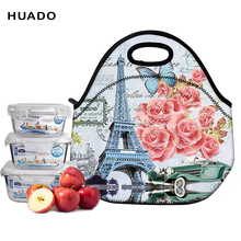 Купить с кэшбэком Portable Insulated lunch Bag waterproof Thermal Food Picnic Lunch Bags for Women kids Men