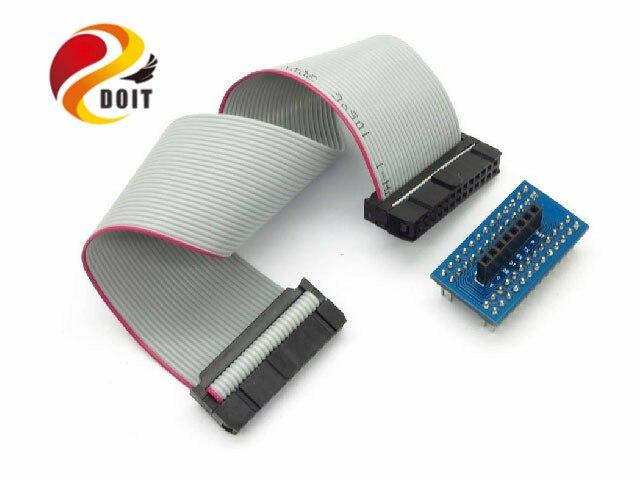 DOIT Tieline Connection Raspberries Pie PI RPI GSMGPRS Sim900 Module Suite Ribbon Cable Line PCduino Robot Chassis Car
