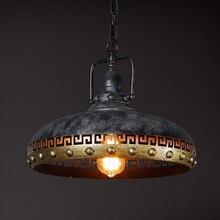 цены American Rustic Edison Loft Style Industrial Pendant Lighting Fixtures Retro Vintage Lamp Hanging Lights Lamparas Conlgantes