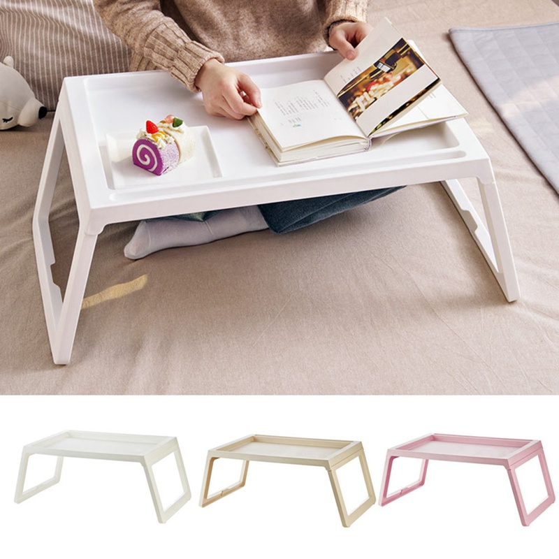 Sofa-Bed Laptop-Table-Notebook Desk Folding-Legs Studying Eating Portable for on