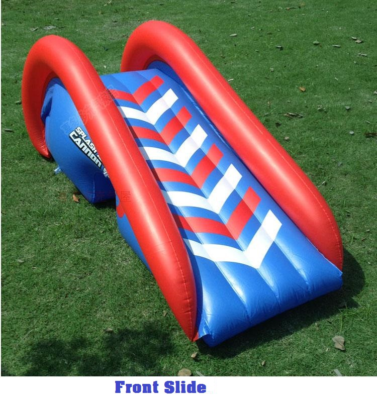 HTB1mLE2XwoQMeJjy1Xaq6ASsFXaG - 3.8m Giant Kids Inflatable Surf 'N Slide Play Center Water Slide with Pump