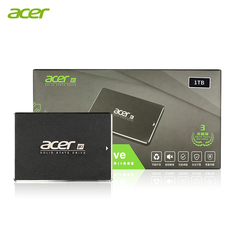 Acer ASN9B0 <font><b>SSD</b></font> 250GB 500GB <font><b>1TB</b></font> Internal Solid State Disk HDD Hard Drive SATA3 <font><b>2.5</b></font> inch Laptop Desktop PC Disk HD <font><b>SSD</b></font> image