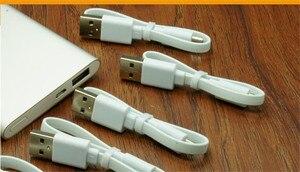Image 5 - 22/32 cm Original xiaomi powerbank câble Micro USB court câble de données de charge pour batterie externe câble Android microUSB câble de câble