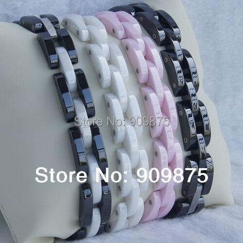Белый и черный дизайн одежды привет технологий царапинам керамики Braclet 4 цвета доступны браслеты