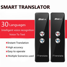 Binai original VT-1 de dos vías en tiempo real voz interactiva traductor Bluetooth 4.1 voz traductor para aprender viajes de negocios