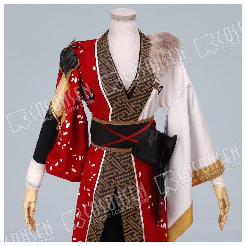 Cosonsen Ensemble Stars赤月桐生黒コスプレ衣装赤白フルセットnaraya