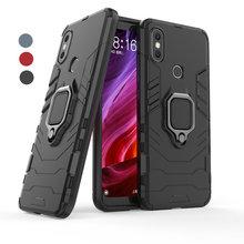 Xiaomi Mi A2 Case Hybird Cover Funda Xiaomi Mi A1 Case Car Magnetic Ring Holder for Xiaomi Mi 6X 5X Protect Case Mia2 Mia1 Mi6x