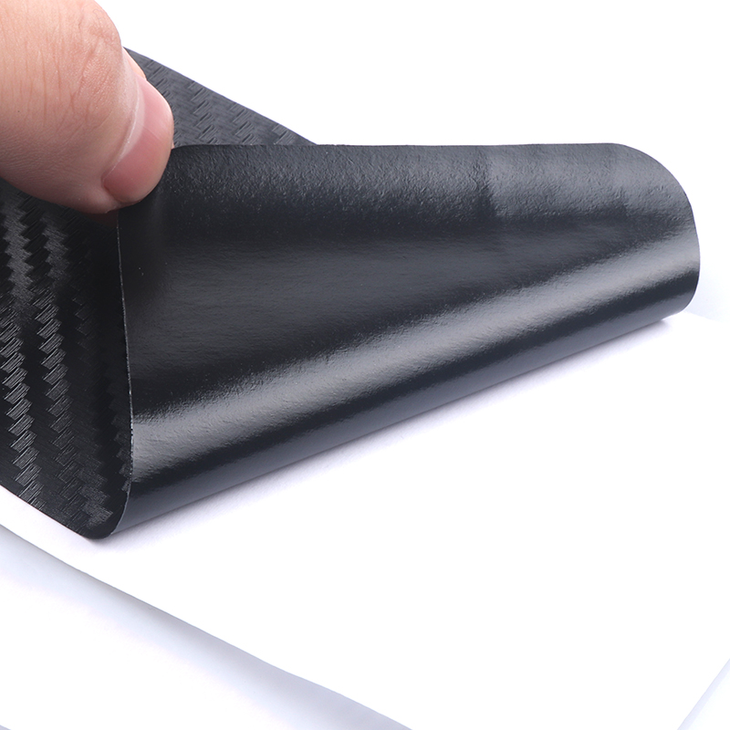 4pcs Carbon Fibre Door Plate Scuff Protection Sticker Door Sill Protector Stickers For Lada Niva Kalina Priora Granta Largus Vaz