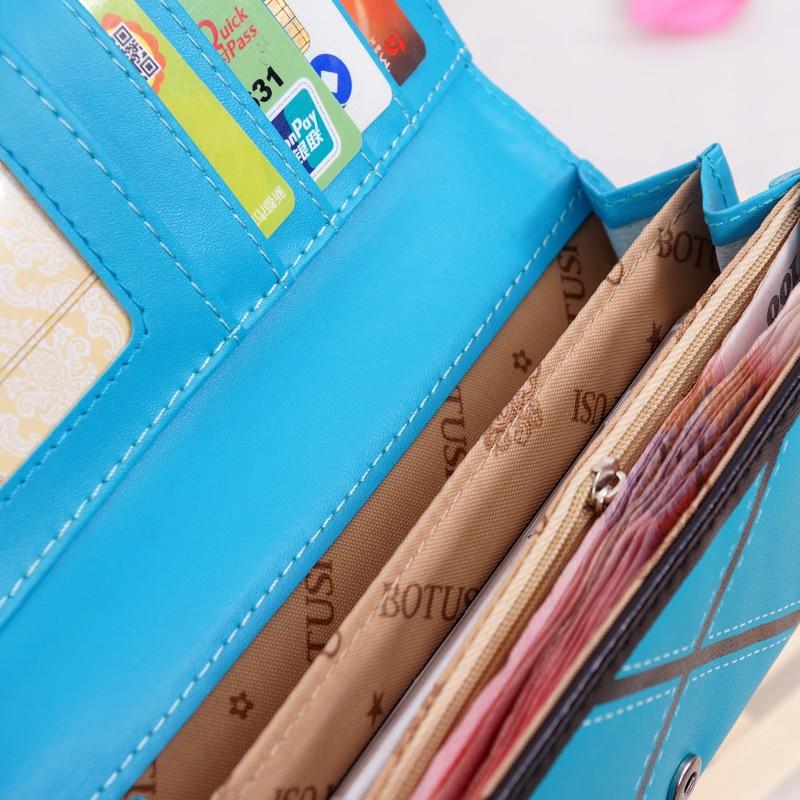 BOTUSI Naiste rahakott, 6 värvivalikut 5