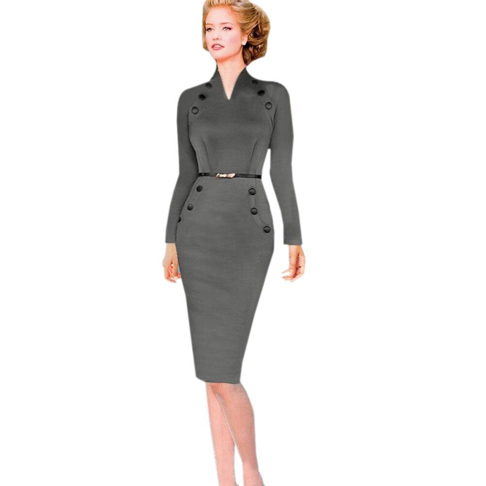 Gal size plus long retro bodycon dresses